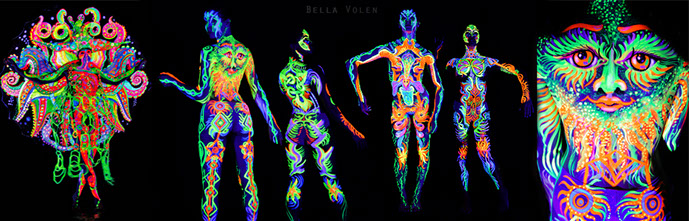 Body Painting Kinds Visual Art By Bella Volen