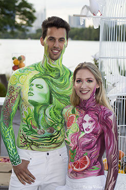 Art Body Painting Designs