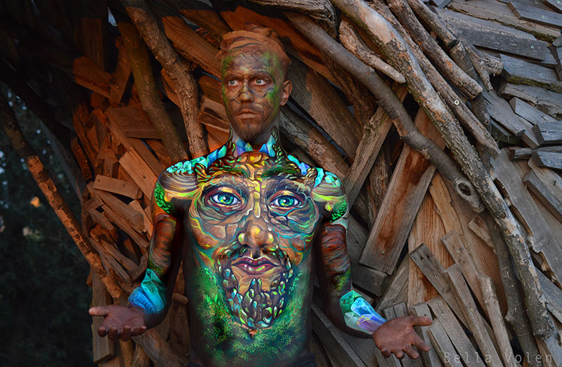 bodypainting, fine art body painting 2017