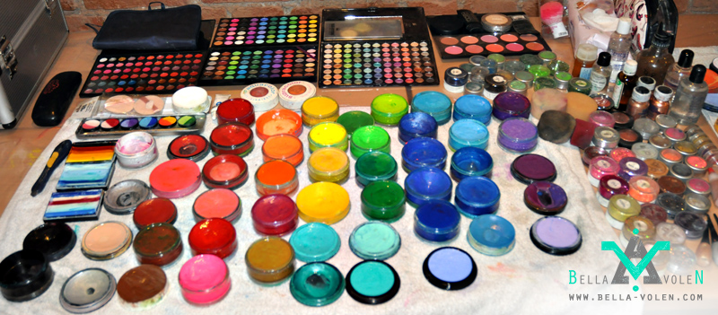 Body Painting Colors Which Colors To Use For Body Painting Visual Art By Bella Volen
