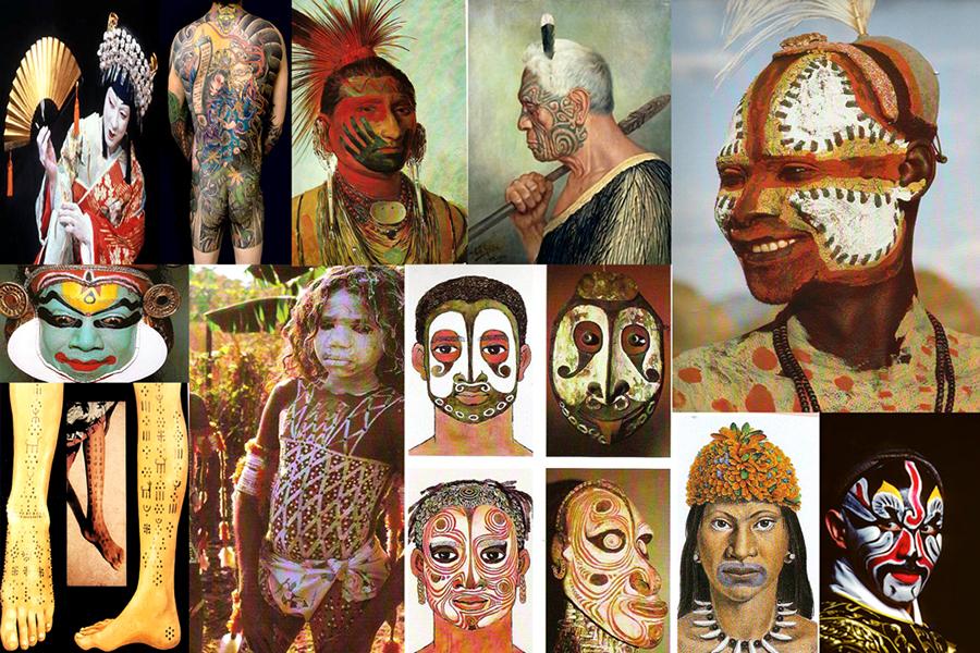 Body Art Body Painting History Visual Art By Bella Volen
