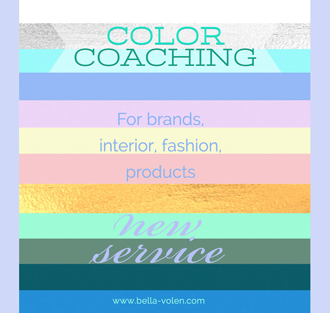 individual color coaching for brands, products and people
