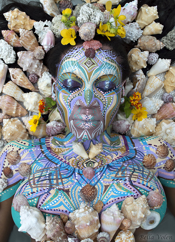 bodypainting in Africa