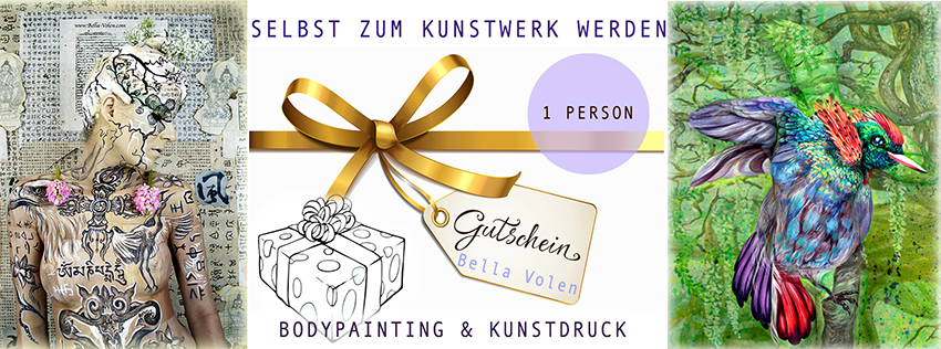 Privates Bodypainting mit Fotoshooting in Wien